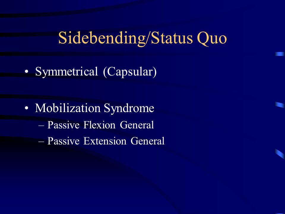 Sidebending/Status Quo
