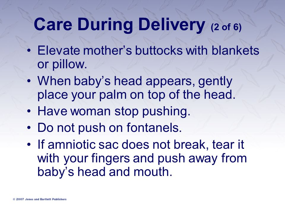 Care During Delivery (2 of 6)