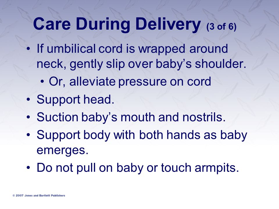 Care During Delivery (3 of 6)