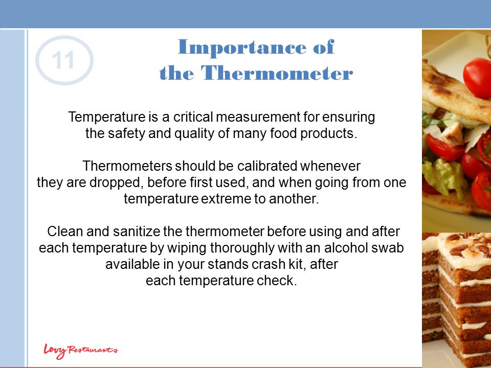 Importance of the Thermometer