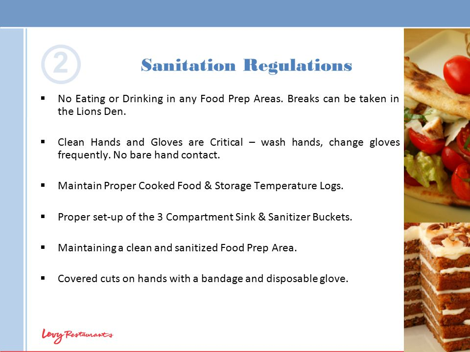Sanitation Regulations