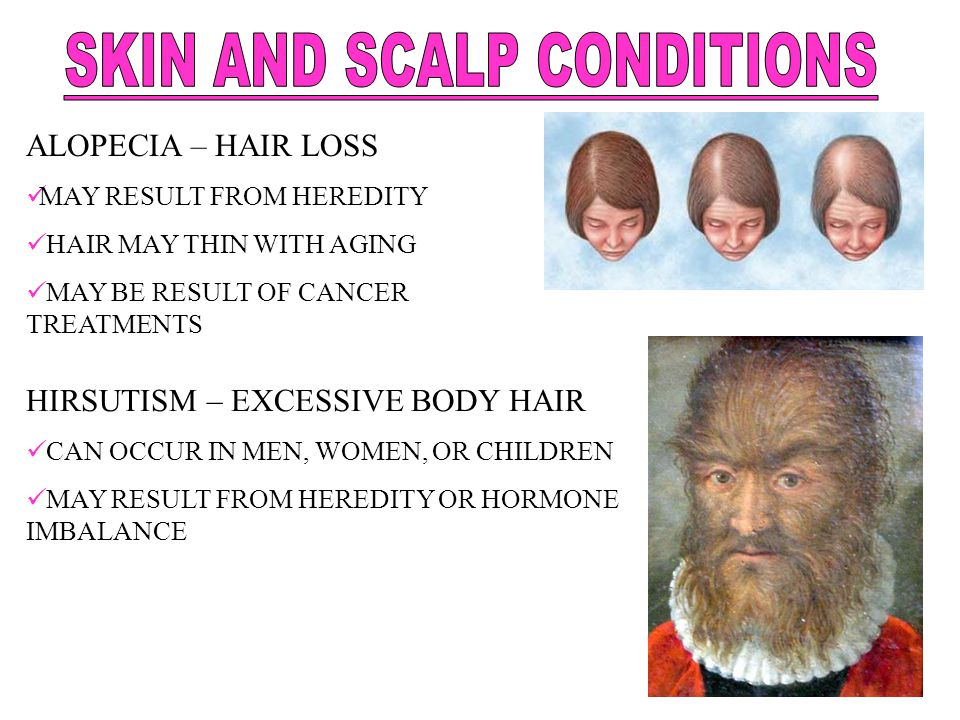 SKIN AND SCALP CONDITIONS