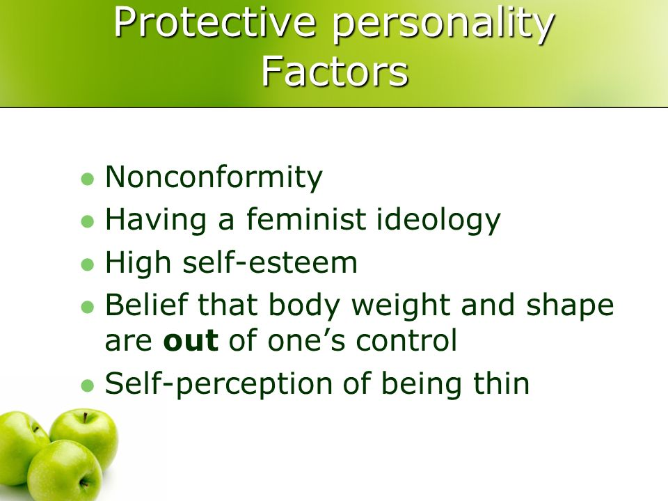 Protective personality Factors