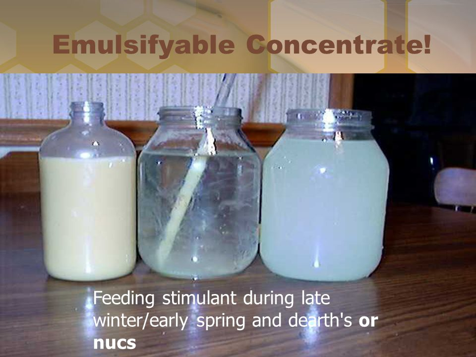 Emulsifyable Concentrate!