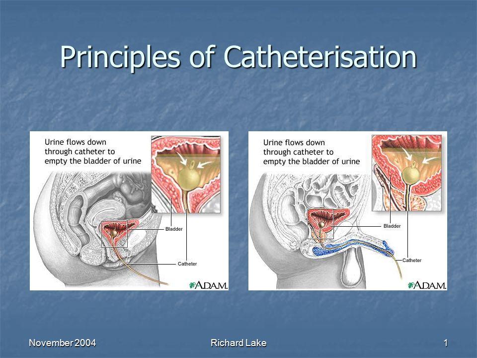 Principles of Catheterisation
