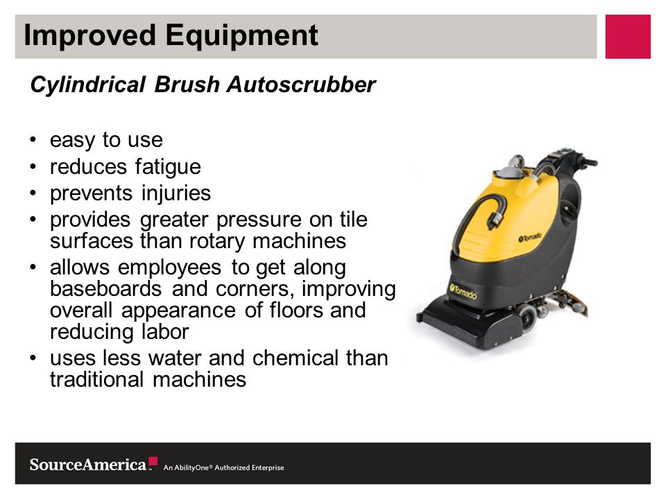 Improved Equipment Cylindrical Brush Autoscrubber easy to use