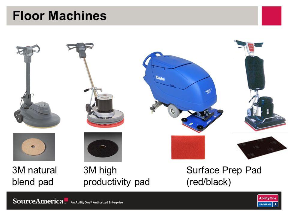 Floor Machines 3M natural blend pad 3M high productivity pad
