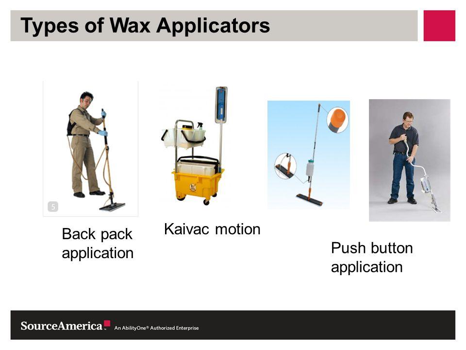 Types of Wax Applicators