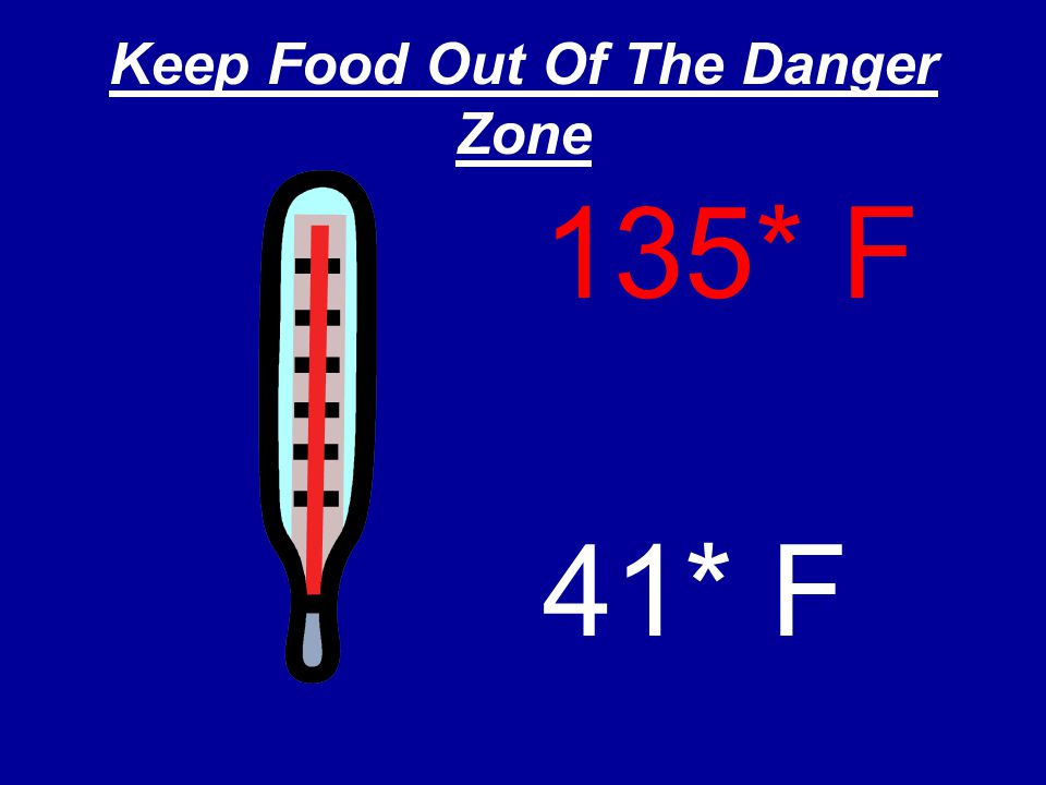Keep Food Out Of The Danger Zone