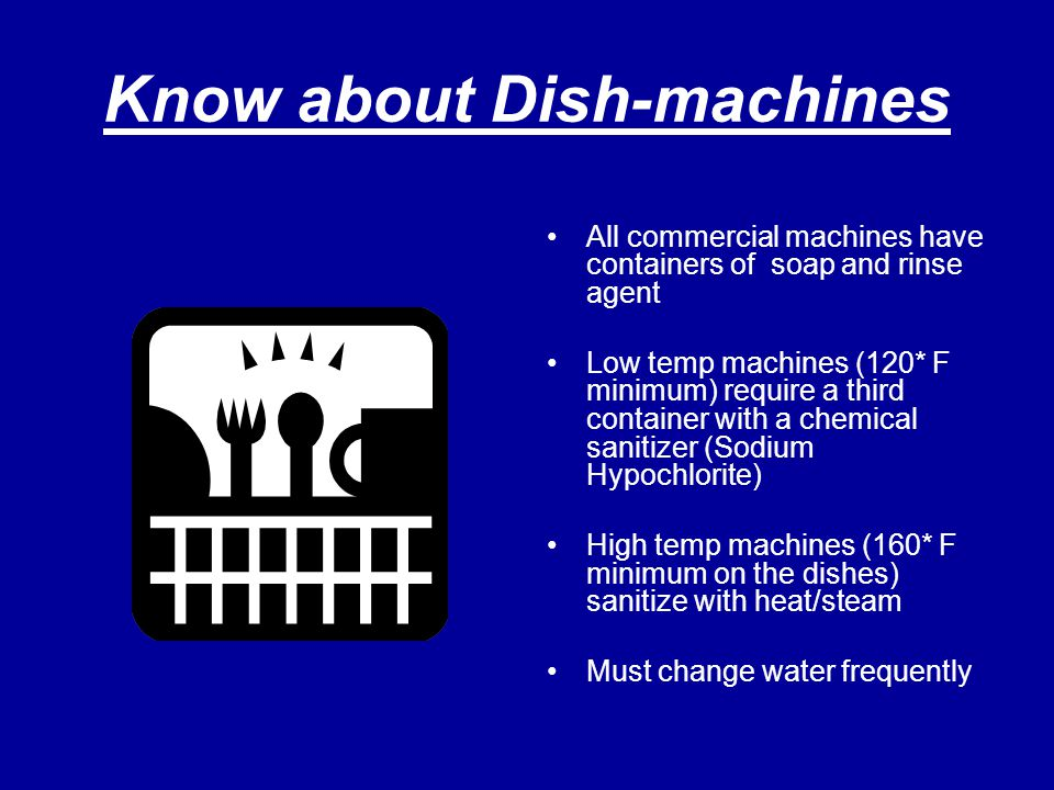 Know about Dish-machines