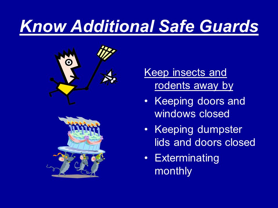 Know Additional Safe Guards