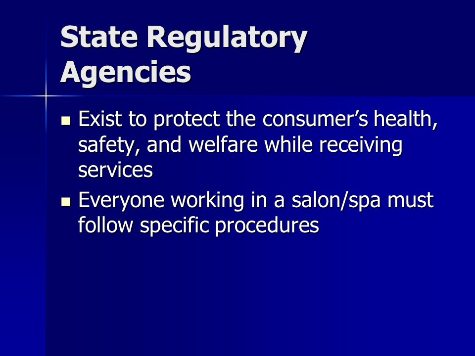 State Regulatory Agencies
