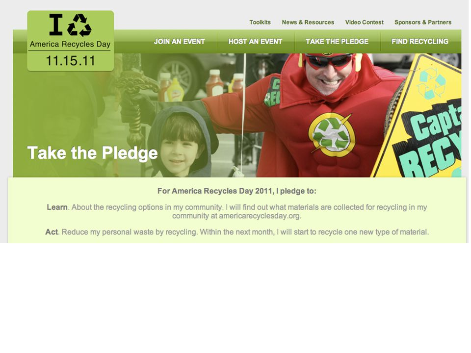 47% increase in the volume of recycled material.