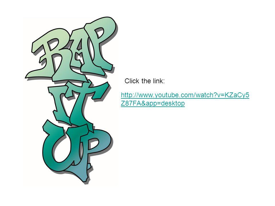 Click the link: http://www.youtube.com/watch v=KZaCy5Z87FA&app=desktop