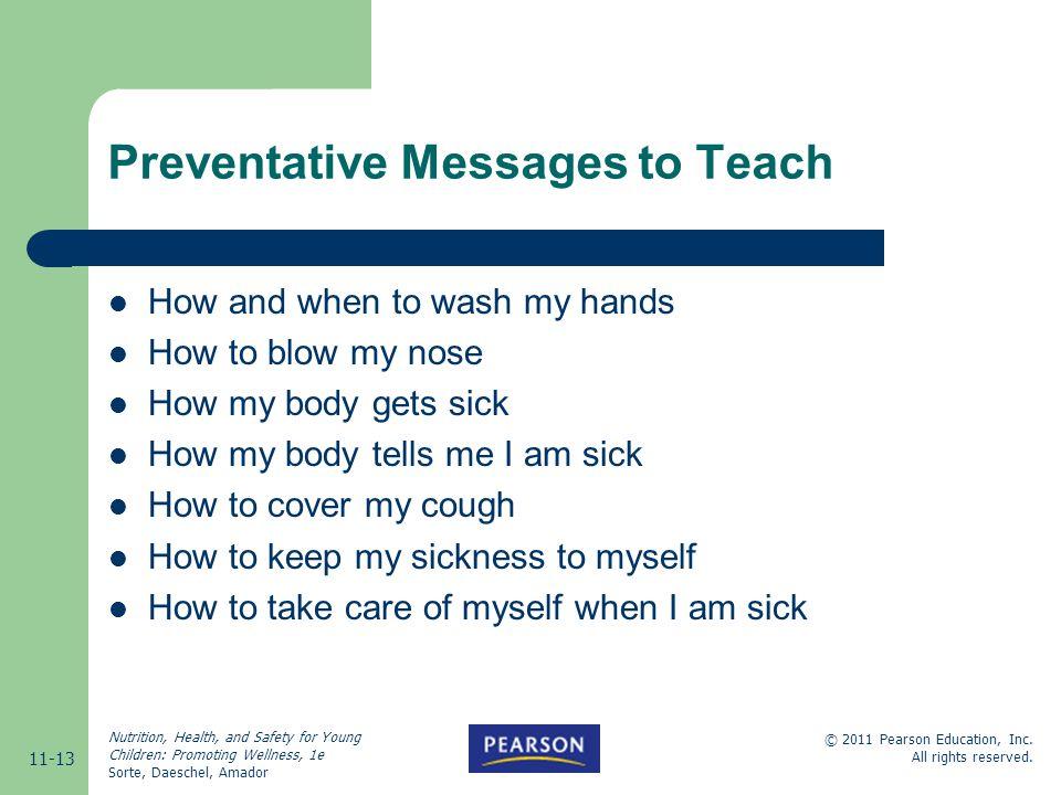 Preventative Messages to Teach