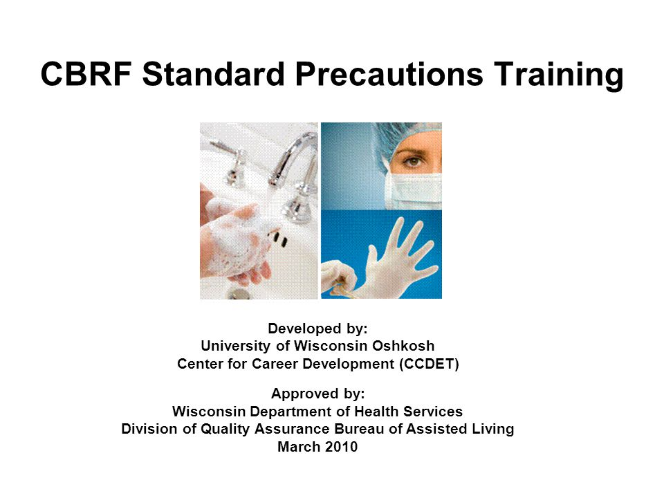 CBRF Standard Precautions Training