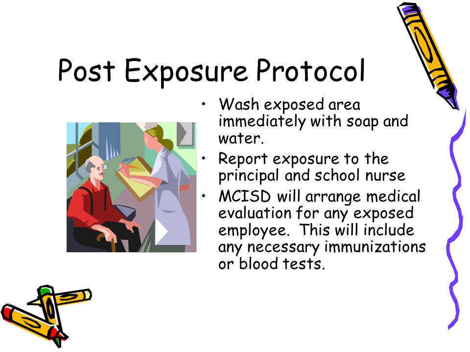 Post Exposure Protocol