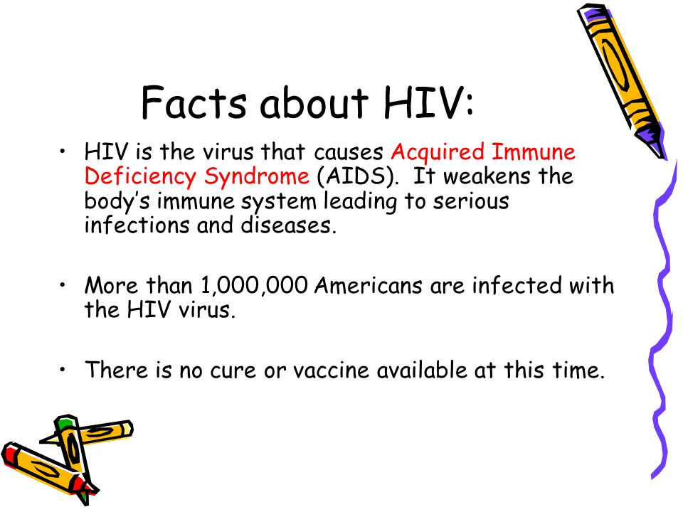 Facts about HIV: