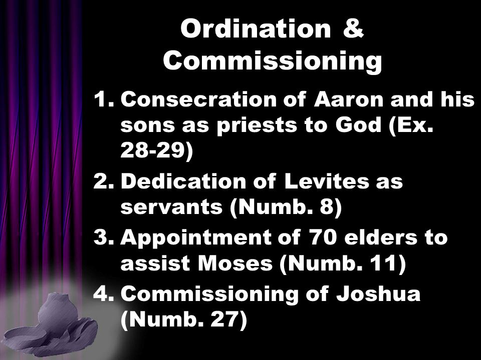 Ordination & Commissioning