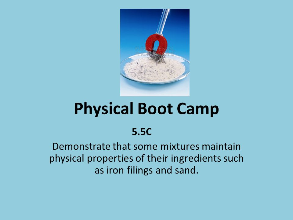 Physical Boot Camp 5.5C.