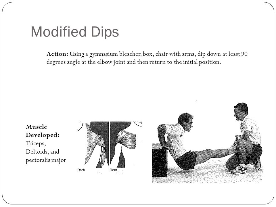 Modified Dips