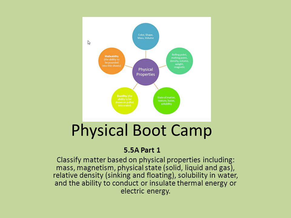 Physical Boot Camp 5.5A Part 1