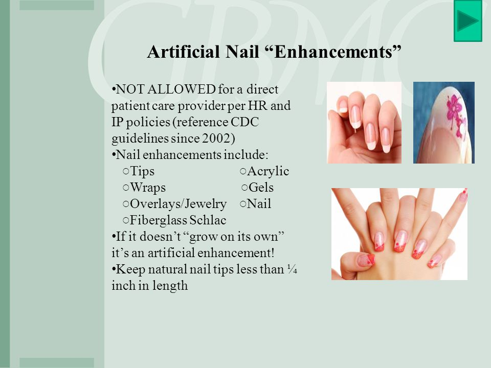 Artificial Nail Enhancements