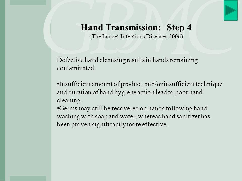 Hand Transmission: Step 4