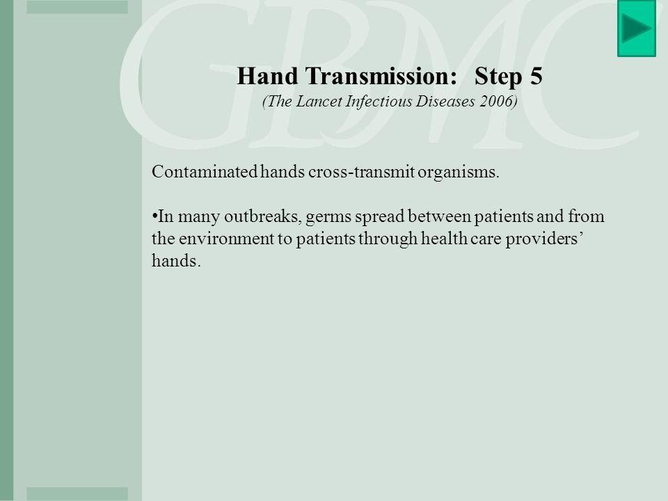 Hand Transmission: Step 5