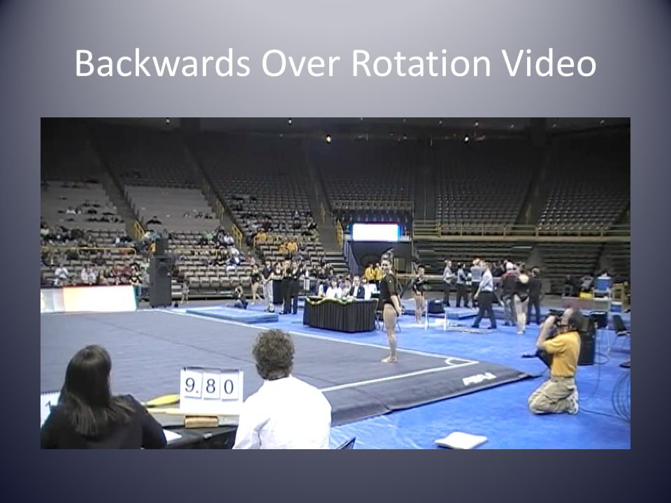 Backwards Over Rotation Video