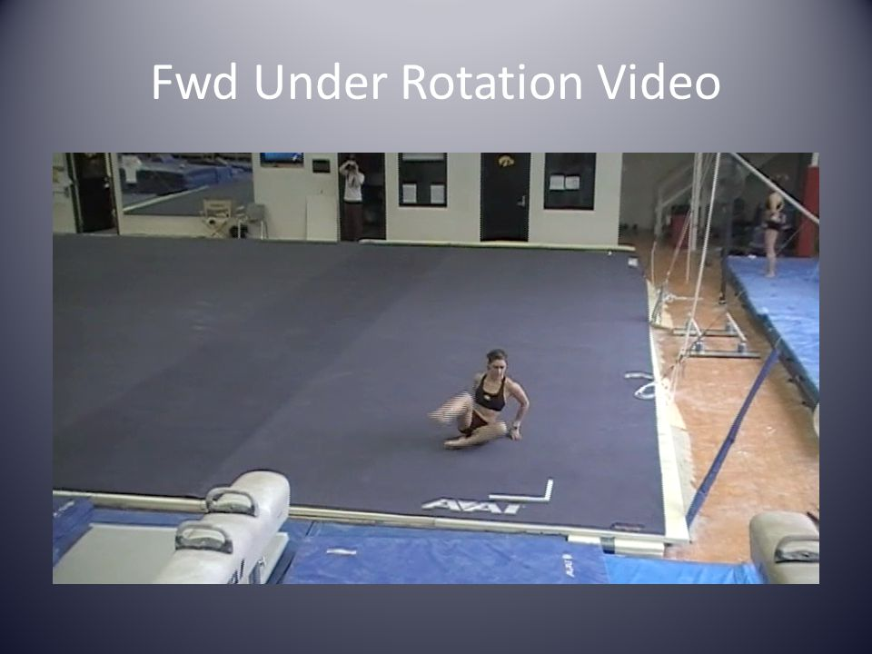 Fwd Under Rotation Video