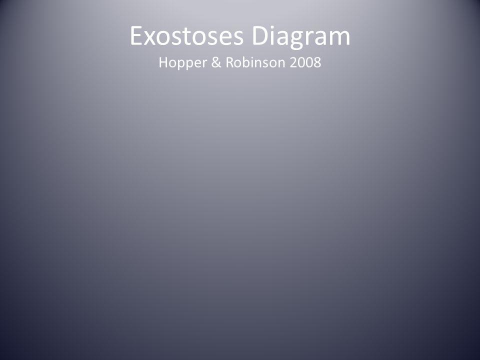 Exostoses Diagram Hopper & Robinson 2008