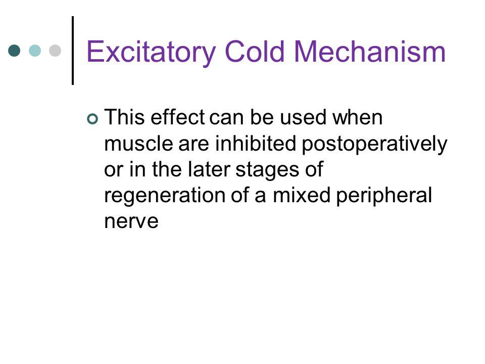 Excitatory Cold Mechanism