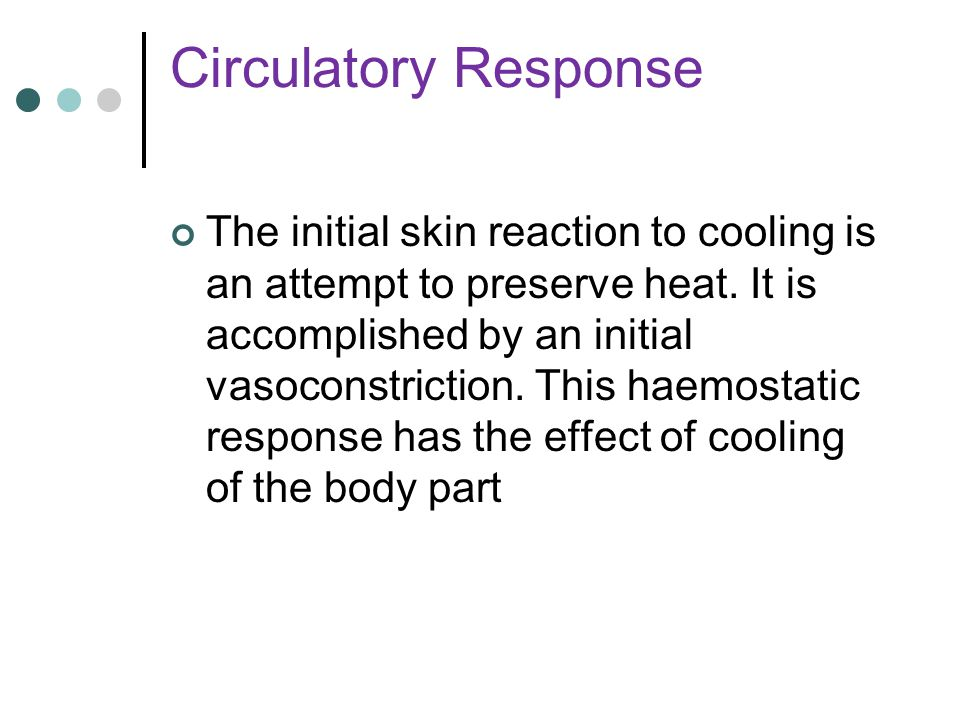 Circulatory Response