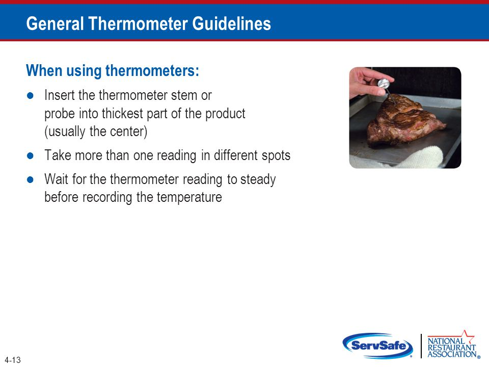General Thermometer Guidelines