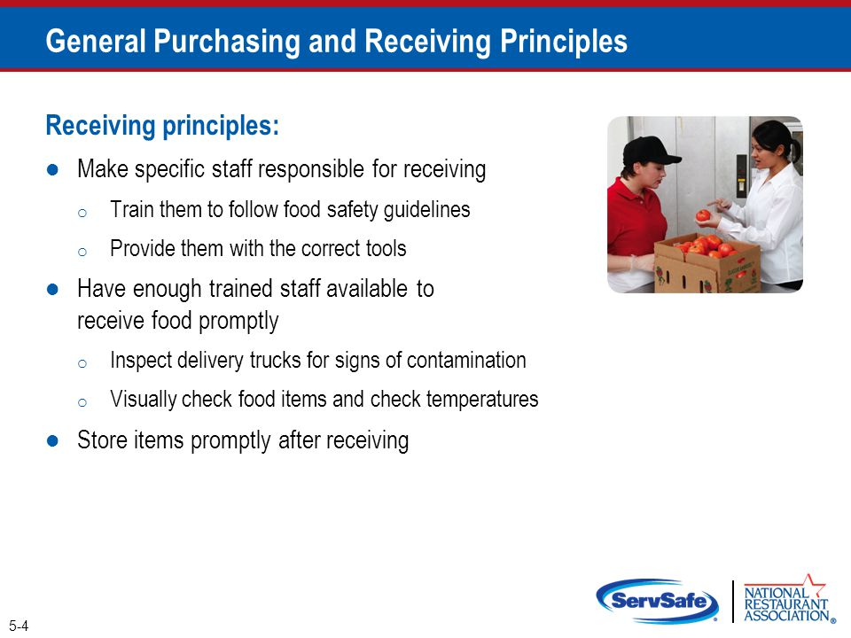 General Purchasing and Receiving Principles