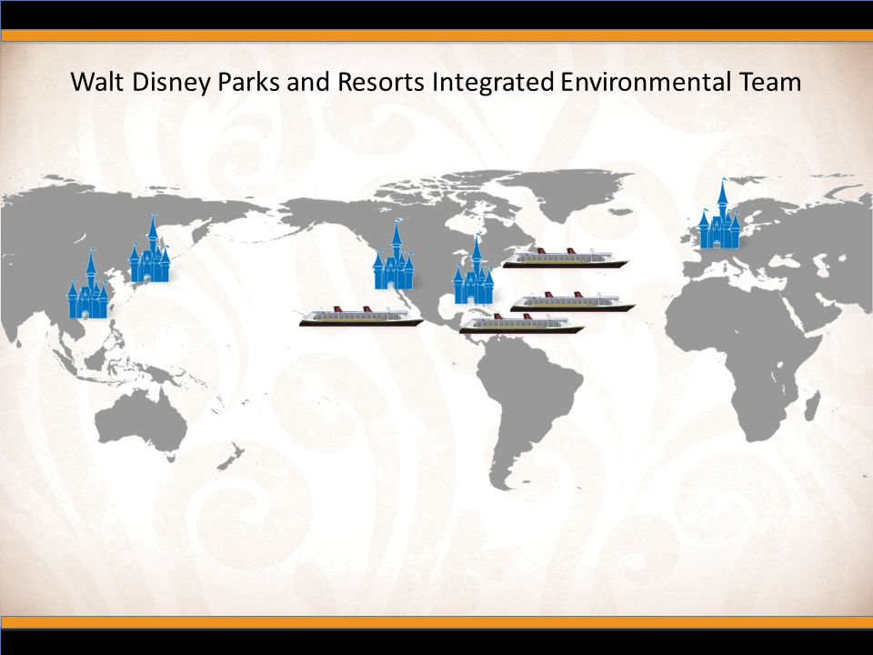Walt Disney Parks and Resorts Integrated Environmental Team