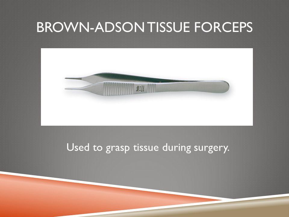 Brown-Adson Tissue Forceps