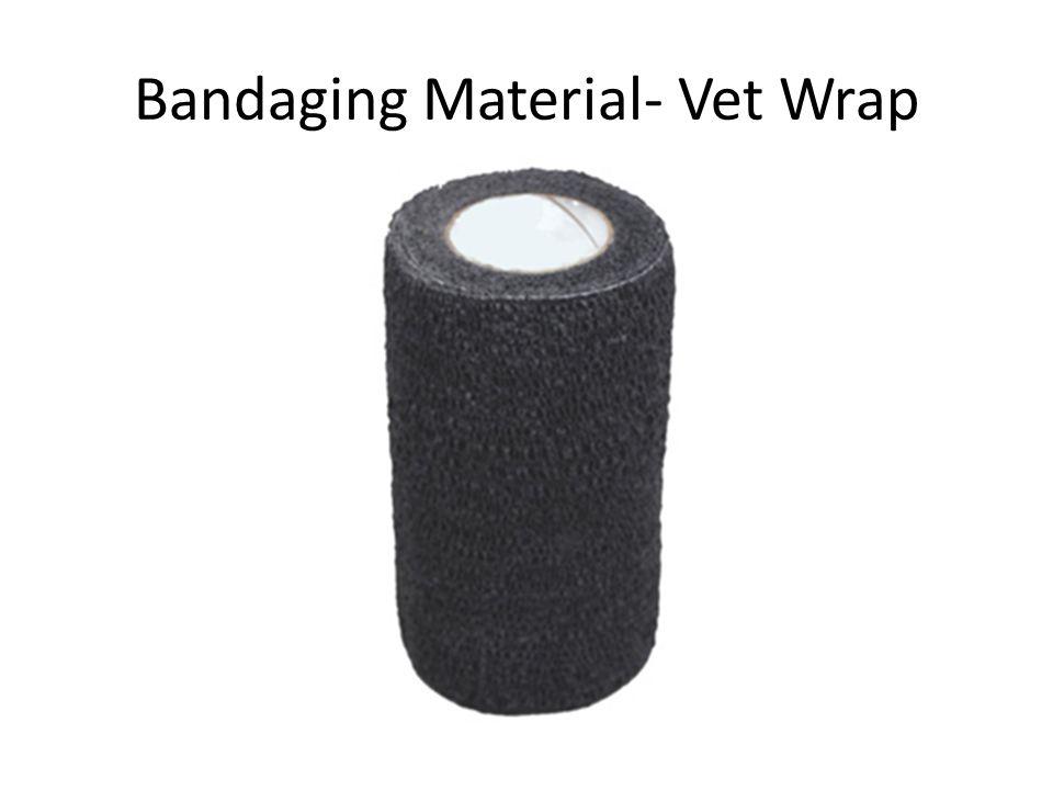 Bandaging Material- Vet Wrap