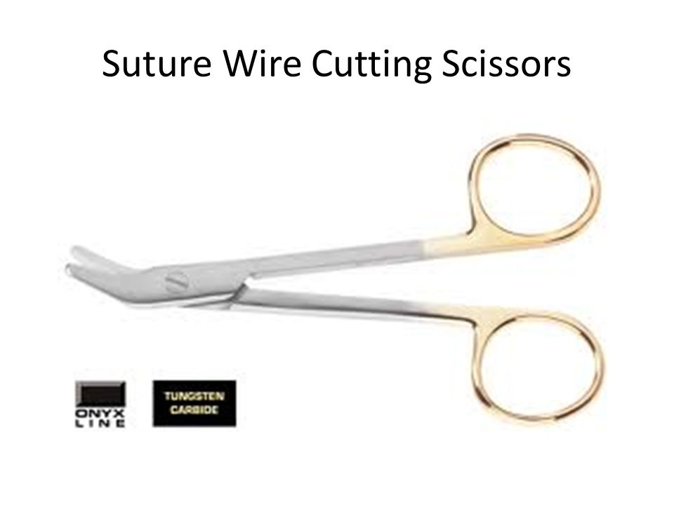 Suture Wire Cutting Scissors
