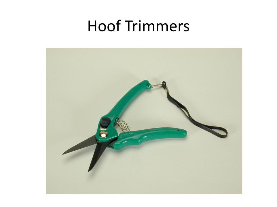 Hoof Trimmers
