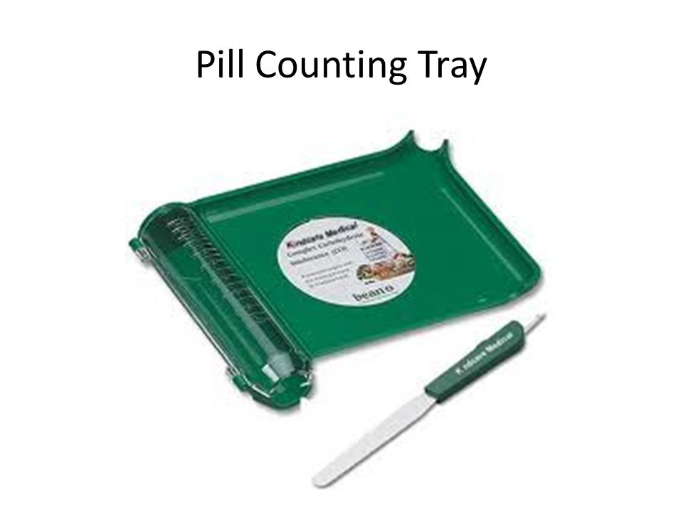 Pill Counting Tray
