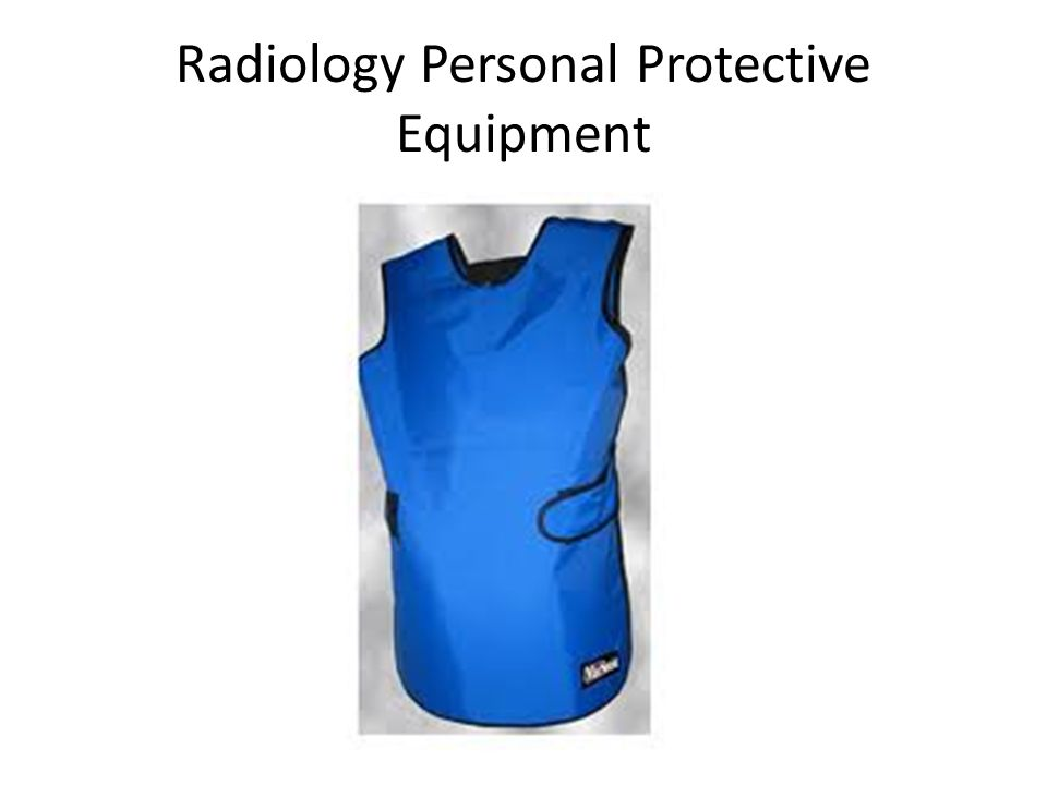 Radiology Personal Protective Equipment