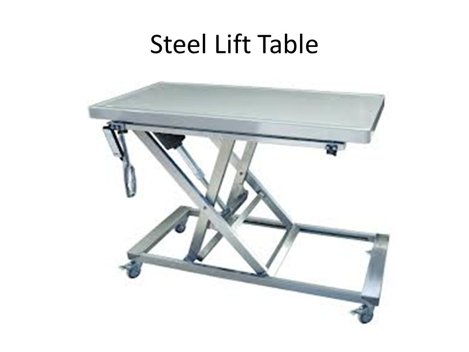 Steel Lift Table