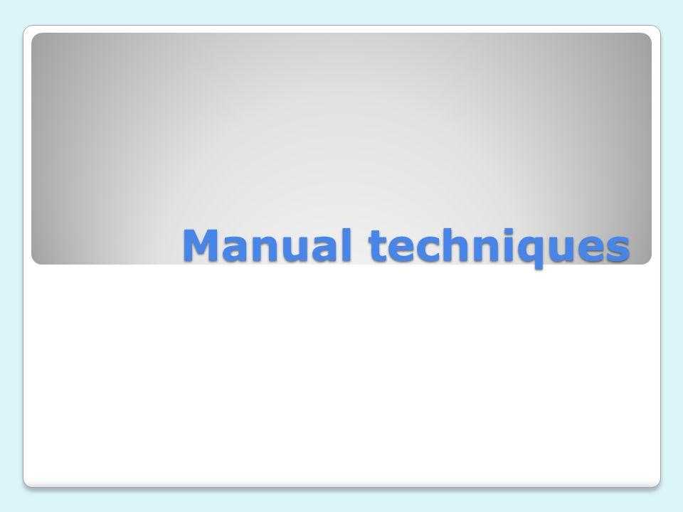 Manual techniques