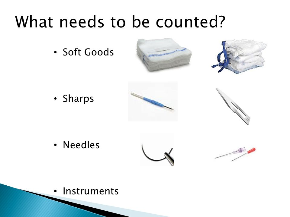 What needs to be counted