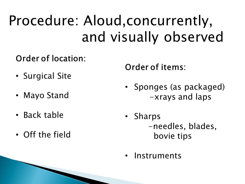 Procedure: Aloud,concurrently, and visually observed