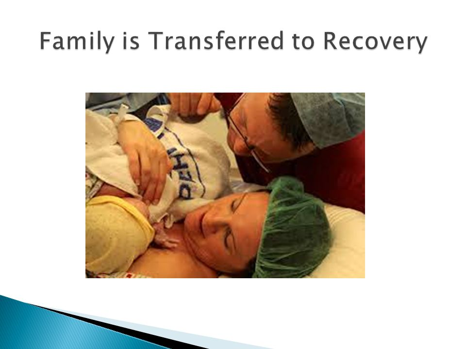 Family is Transferred to Recovery