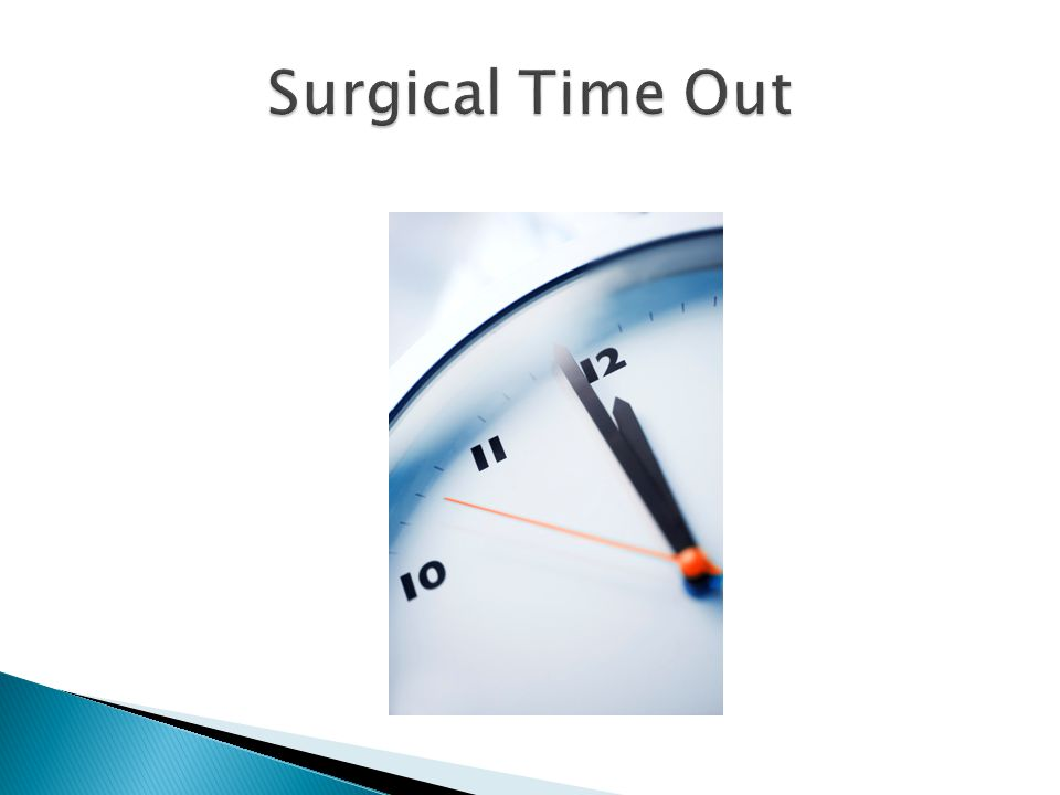 Surgical Time Out