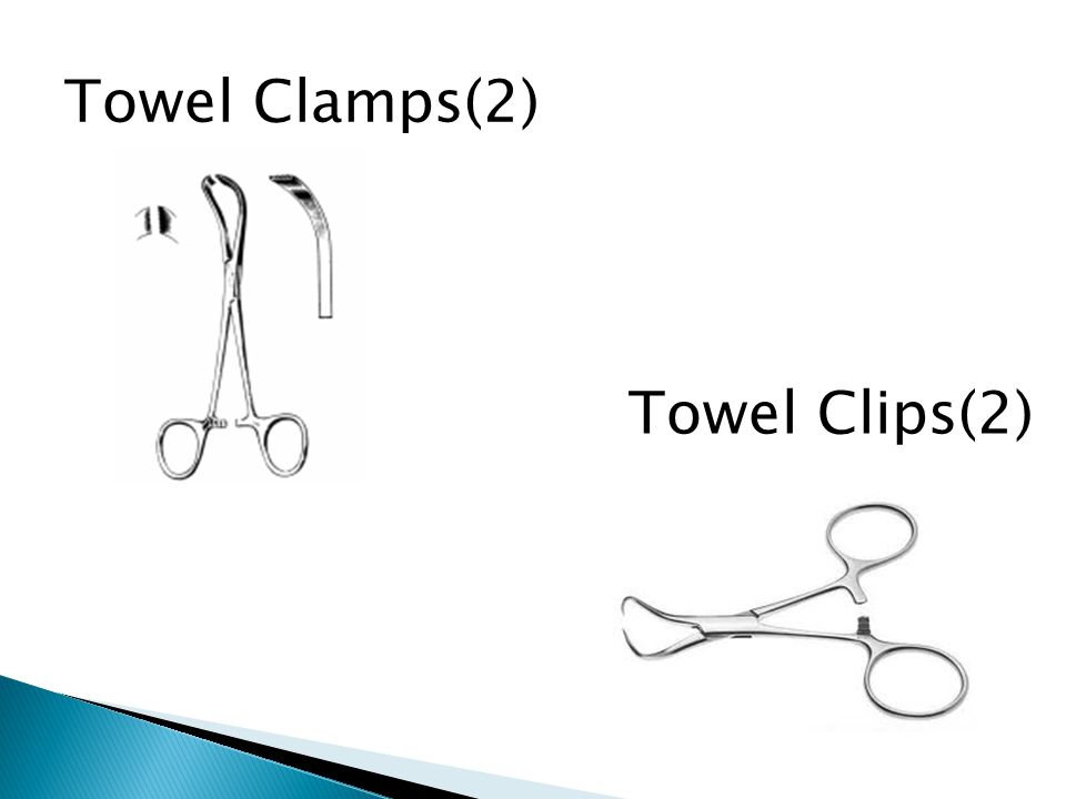 Towel Clamps(2) Towel Clips(2)